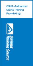 OSHA 10/30 training provided by Summit Training Source